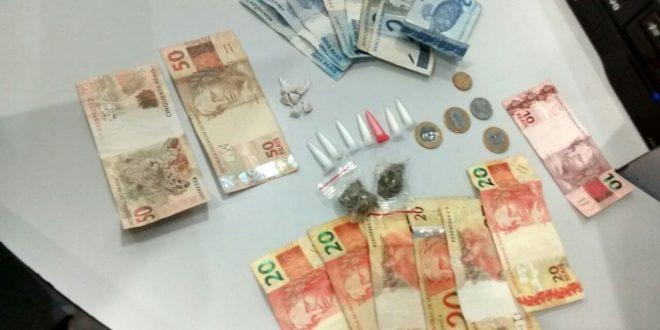 Preso com cocaína, maconha e crack no Jardim América, em São Leopoldo