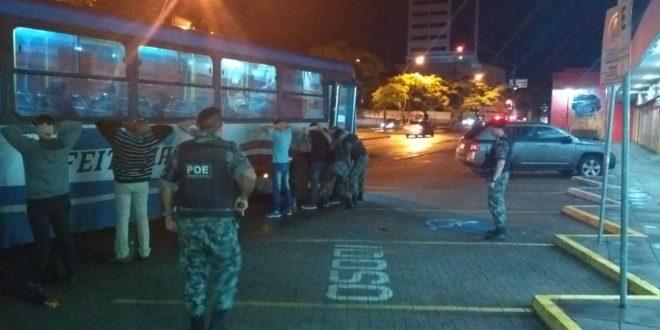 Operação Avante inibe crimes em transportes coletivos