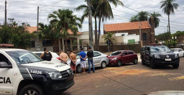 Ação conjunta das Polícias Civis do RS e PR desarticula grupo criminoso suspeito de roubo de veículos
