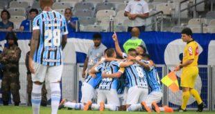 Grêmio derrota o Cruzeiro na estreia no Brasileiro