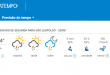 Segunda-feira tem temperaturas entre 7º e 14º C