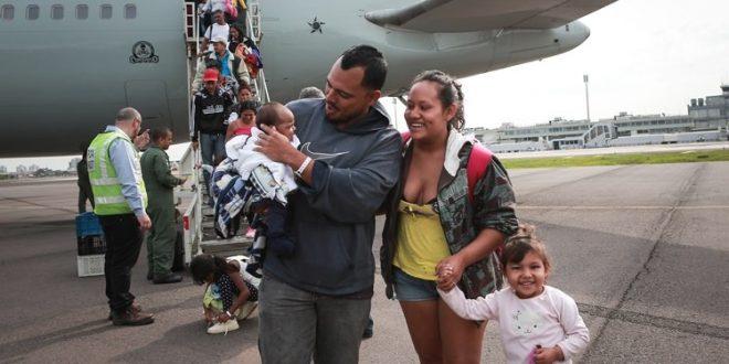 Mais 377 venezuelanos são transferidos para o Rio Grande do Sul