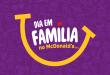 McDonald's promove Dia em Família nesta sexta-feira com muitas brincadeiras