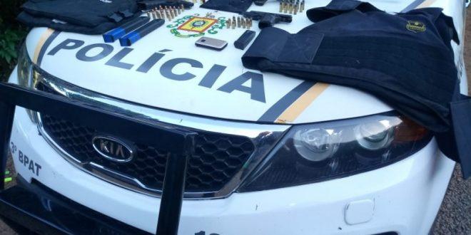 Brigada Militar prende seis assaltantes de bancos e frustra outros dois ataques