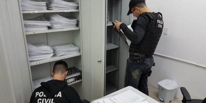 Operação Anamnese é deflagrada no combate a crimes praticados contra o Erário de Estância Velha